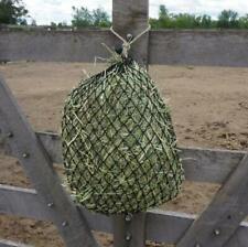 Hay Chix Slow Feed (Half Bale) Hay Net Horse Hay Feeder-NEW ROPE COLORS-You Pic
