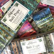 Hoffman Bali Pops, Batik Fabric Strips, Rollups, Jelly Roll, Quilting, Sewing