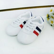 Toddler Infant Baby Boy Girl Soft Sole Crib Prewalker Trainer Sneaker Shoes 0-1T