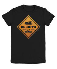 Burrito On Board Funny Food Lover T-Shirt - Youth Tee