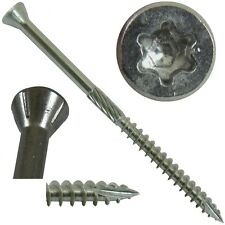 STAINLESS STEEL WOOD SCREWS: (Trim) Silver Star Stainless Steel Trim Head Screws