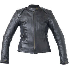RST Motorbike Motorcycle Womens Kate Ladies Leather Jacket - Black