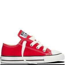 Converse CT OX 7J236  Kids -  Unisex Red  Trainers