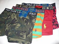 NEW NWT RALPH LAUREN POLO MENS BOXER BRIEFS UNDERWEAR M 32/34 L 36/38 XL 40/42