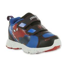 NEW NWT Marvel Toddler Boy's Spider-Man Blue/Red Sneaker Size 7,8,9,10