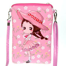 Girl Princess Mini Cross Body Messenger Bag Shoulder Bag Phone bag Coin Purse