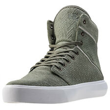 Supra Camino Mens Trainers Olive New Shoes