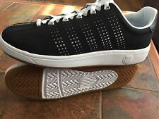Men's K-Swiss Classic VN Black White Casual Athletic Sneakers Shoes NEW!  $75