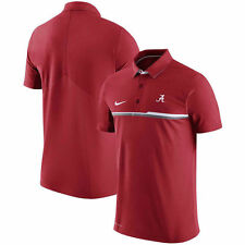 ALABAMA CRIMSON TIDE  ELITE POLO SHIRT- NIKE SIDELINE-MED & LARGE-NWT-$80 RETAIL