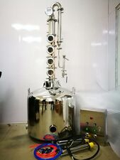 Moonshine reflux still - 26 gallon jacketed - Free controller - Turnkey! - SALE!