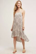 NEW Anthropologie Hi-Lo Hem Rayon Verana Day Dress by Eloise Size S
