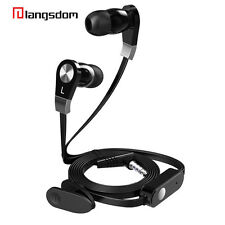 Portable Mini Stereo Bass Earphone with Microphone Wired Sport Headphones