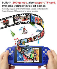 4-128GB TF Card Handheld Video Console Game MP3 Player MP4 Player MP5 Boys Toys