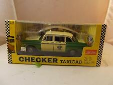 Rare Sun Star 1:18 Scale 1981 Checker Taxi Cab Mint Condition Die Cast Car 2502
