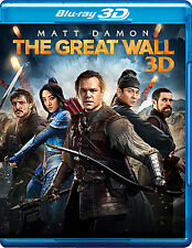 The Great Wall (Blu-ray 3D + Blu-ray)(Two Disc)(All 2017 NEW)(Digital Available)