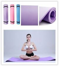 """6mm Thick Non-Slip Yoga Mat Exercise Fitness Lose Weight 68""""x24""""x0.24"""" HOT B1"""