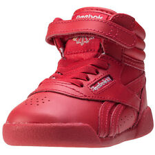 Reebok Fs Hi Excel Toddler Trainers Red New Shoes