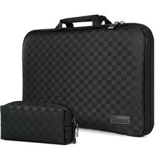 """7"""" - 17.3"""" Memory Foam Laptop Carrying Case Sleeve Pouch Protection Bag Check"""