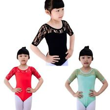 Children Girl Kid Ballet Dancewear Dress Leotard Dance Gymnastics Costume 4-16T