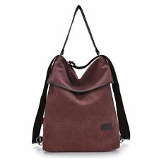 New Casual Multi Function Retro Stylish Canvas Backpack For Women