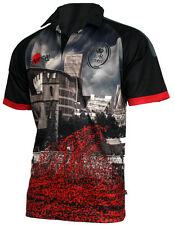 Army Tower of London Poppy Rugby Shirt