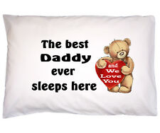 Fathers Day Gift for Daddy Grandad Dad Gift for Daddy Grandad Cotton Pillow case