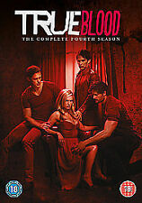 TRUE BLOOD COMPLETE SERIES 4 DVD Collection NEW SEALED FREEPOST