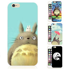 Cute Totoro Anime Cartoon Soft Hard Phone Case Cover For iPhone 4s/5/6s/7/7Plus
