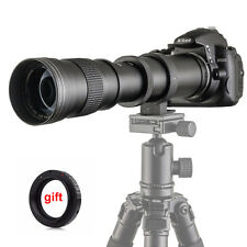 420-800mm F/8.3-16 Super Telephoto Zoom Lens for DSLR Canon Nikon Pentax Olympus
