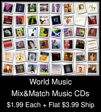 World Music(1) - Mix&Match Music CDs @ $1.99/ea + $3.99 flat ship