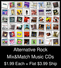 Alternative Rock(5) - Mix&Match Music CDs @ $1.99/ea + $3.99 flat ship