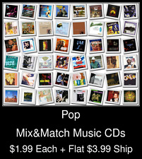 Pop(17) - Mix&Match Music CDs @ $1.99/ea + $3.99 flat ship