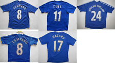 Chelsea FC London Umbro Adidas Duff Lampard Hazard shirt jersey boys kids M L XL