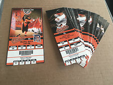 2011 Full Tickets Baltimore Orioles YOU PICK ONE GAME Vlad Guerrero Arrieta 1/2