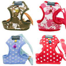 Camouflage Dots Harness and Leash Set Small Pets Animals Rabbit Cat Dog Bunny
