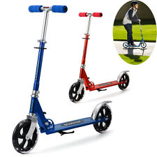 Hot Alloy Folding Durable Adjustable Height Teens Adult Kick Scooter