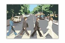 Famous Beatles Abbey Road Pop Art Cover Poster Print Wall Decoration Art Picture