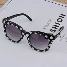 New Fashion Colorful Sunglasses Stars Thick Frame Colorful Film/Gray Lenses VE