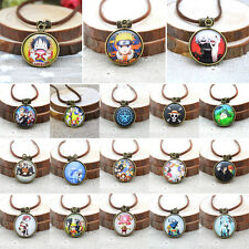 Anime Miku Necklaces Cosplay Pocket Watch Pattern Pendants Charm Butler Jewelry