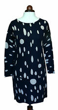 Boden Women's Brand New Print Tunic Dress - Navy Abstract Oval - RRP £99 REDUCED