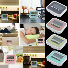 Large LCD Digital Kitchen Cooking Timer Count-Down Up Clock Loud Alarm VE