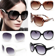 Retro Fashion Big Womens Vintage Shades Oversized Designer Sunglasses Eyewear