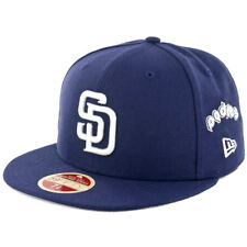 "New Era 5950 San Diego Padres CO""Logo Multiply"" Fitted (Navy) Hat Men's MLB Cap"