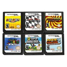 MARIO Game Card Child Children Gift For Nintendo DS NDS DSI 3DS English Version