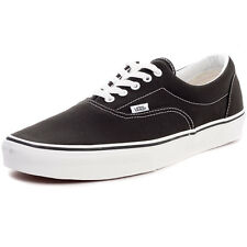 Vans Era Womens Trainers Black White New Shoes