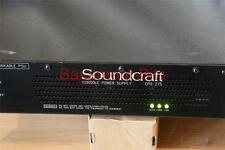 Soundcraft CPS 275 - Mixer Power Supply - Suits Ghost inc LE K2 K3 and others