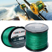 PE Fishing Line Spectra Dyneema Braid Yellow Green LINE100M 300M 500M 1000M DD1
