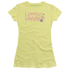 "I Dream Of Jeannie ""Retro Logo"" Women's Adult or Girl's Junior Tee"
