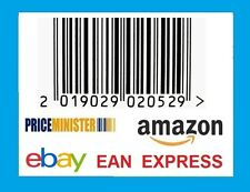 1000pcs EAN 13 Numbers UPC Barcodes Bar Codes for Amazon Ebay Email Delivery