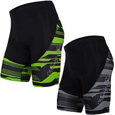 Mens Bike Padded Shorts Bicycle Wear Riding Outdoor Cycling Lycra Tights M-3XL